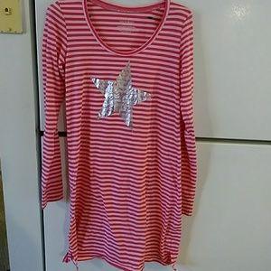 Victoria's Secret ladies nightgown Small pink